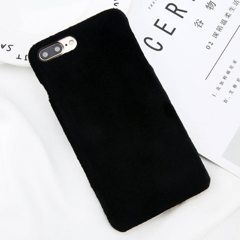 Winter Phone Case For iPhone (Varm fur furry cover)