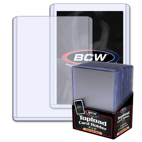 BCW - Thick Card Topload Holder - 59 PT.