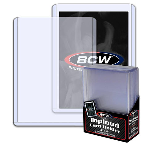 BCW - Thick Card Topload Holder - 108 PT.