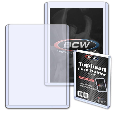 BCW - Thick Card Topload Holder - 360 PT.