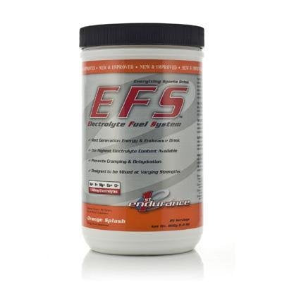 First Endurance EFS Orange Splash, 25 Servings (800g, 1.8 lb)