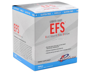 EFS Liquid Shot Vanilla - Gluten Free - Tray of 6