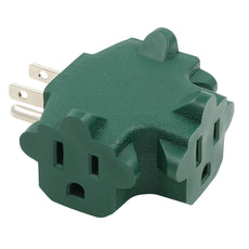 3-Outlet 90° Power Block Adapter