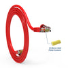 Cat5e Booted Patch Cord, 5ft, Red