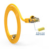Cat.6A Booted Patch Cord, 10ft, Yellow