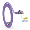 Cat.6 Booted Patch Cord, 7ft, Purple