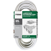 35ft 16/3 SJTW 3-Outlet Landscape Extension Cord