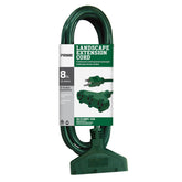 8ft 16/3 SJTW 3-Outlet <br />Landscape Extension Cord