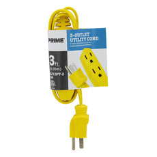 3ft 16/3 SPT-2 3-Outlet <br />Utility Cord