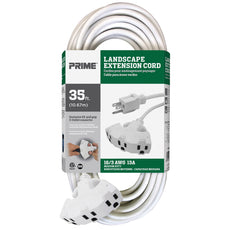 35ft 16/3 SJTW EZ-Pull Grip <br />3-Outlet Extension Cord