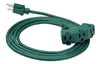 8ft 16/3 SJTW EZ-Pull Grip <br />3-Outlet Extension Cord