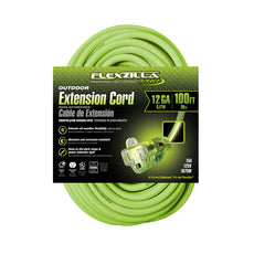 100ft 12/3 SJTW<br />Flexzilla® Pro<br />Outdoor Extension Cord