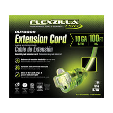 100ft 10/3 SJTW<br />Flexzilla® Pro<br />Outdoor Extension Cord