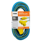 50ft 14/3 SJTW 3-Outlet <br />Outdoor Extension Cord