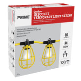 100ft 12/3 STW 10-Bulb <br />Light String