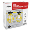 100ft 12/3 SJTW 10-Bulb <br />Light String