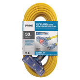 50ft 12/3 SJTOW <br />Bulldog Tough® Oil Resistant<br />3-Outlet Extension Cord