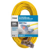 100ft 12/3  SJTOW <br />Bulldog Tough® Oil Resistant<br />3-Outlet Extension Cord