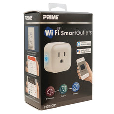 Indoor Wi-Fi Controlled Outlet