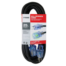 25ft 14/3 SJOOW All-Rubber™ Outdoor Extension Cord
