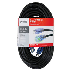 100ft 12/3 SJOOW All-Rubber™ Outdoor Extension Cord