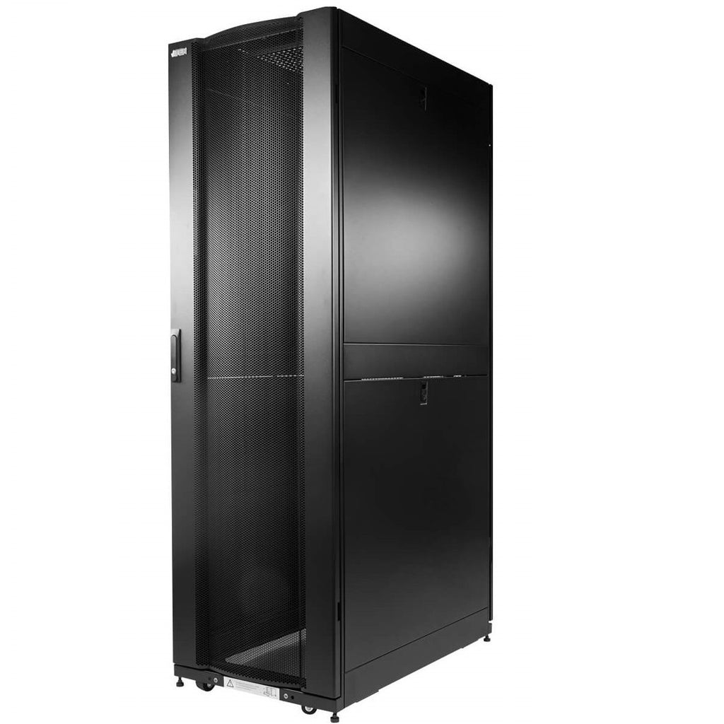 24U Standing Server Rack w/ Perforated Door