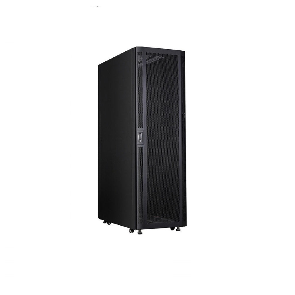 48U Standing Server Rack w/ Perforated Door