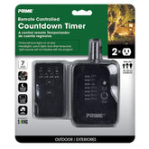 2-Outlet Remote Controlled Countdown Timer