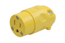 Yellow NEMA 5-15R Replacement Connector