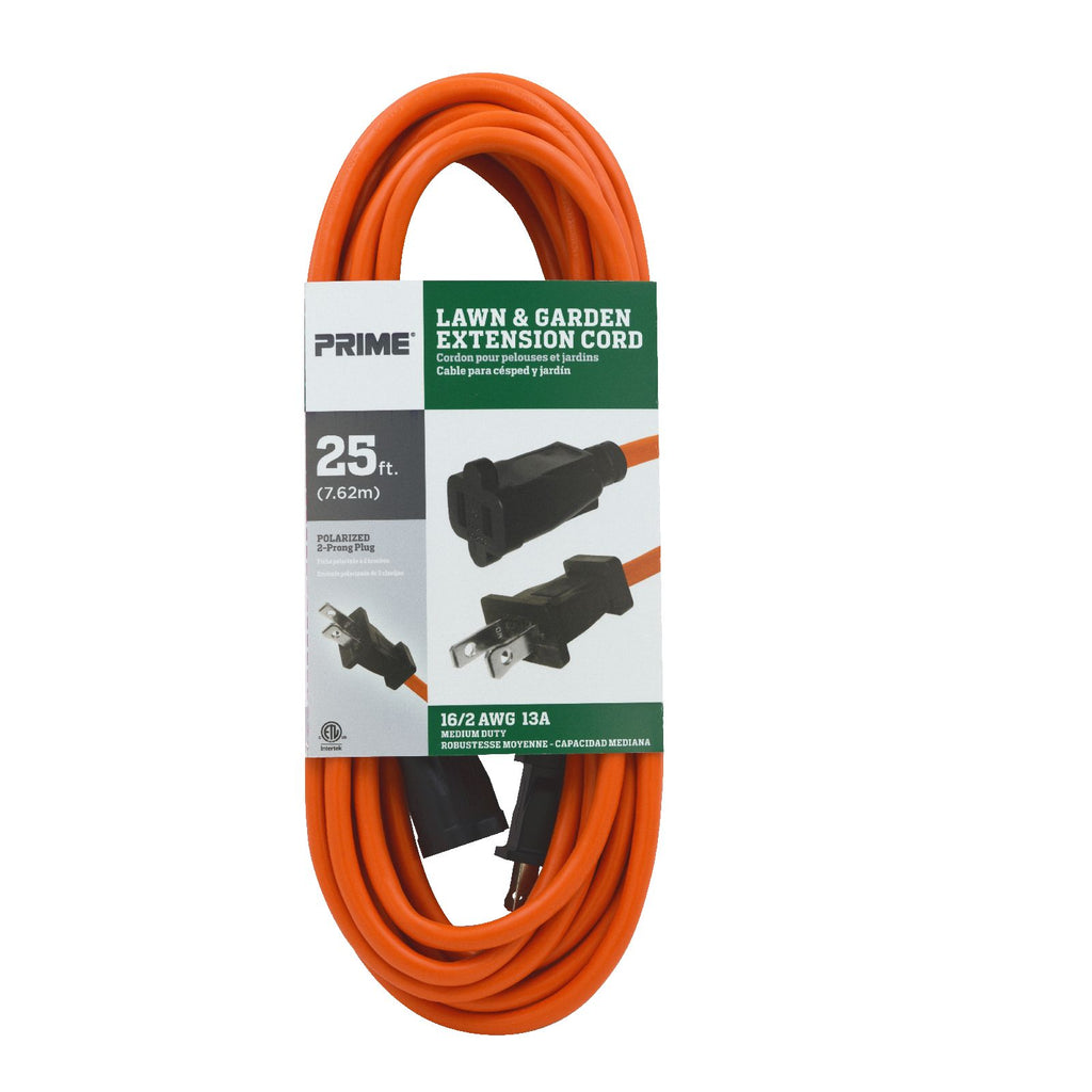 25ft 16/2 SJTW Polarized <br />Outdoor Extension Cord