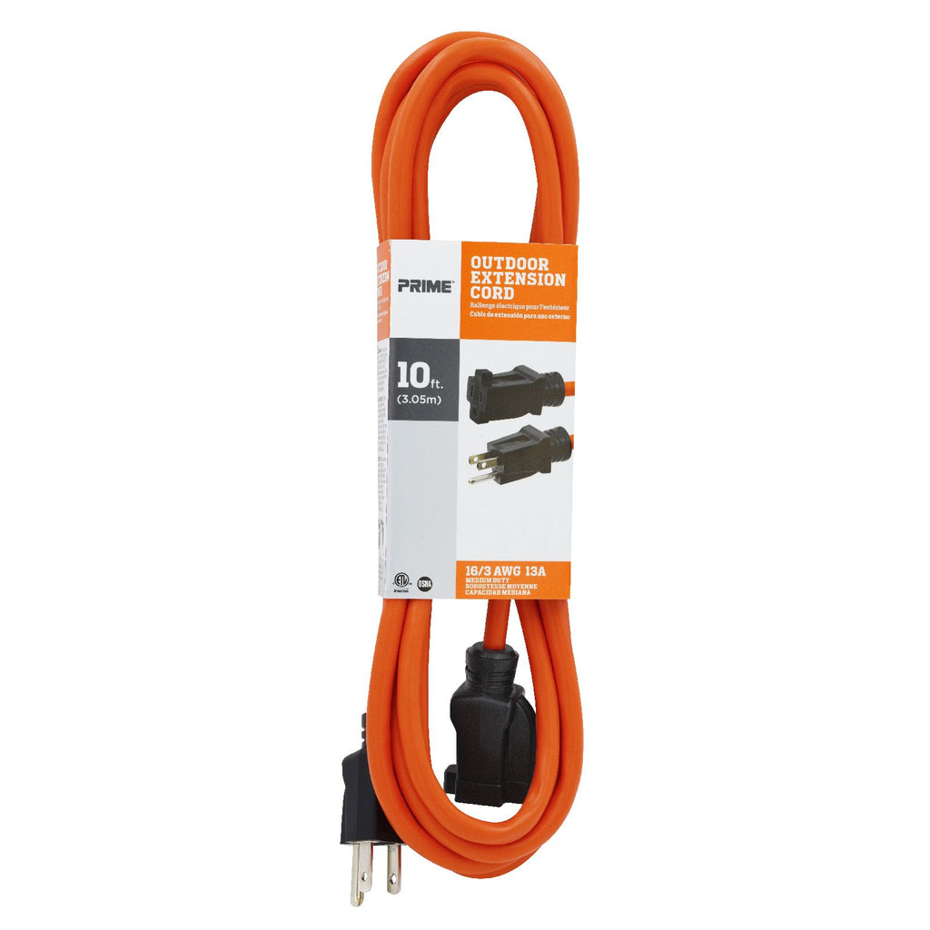 10ft 16/3 SJTW <br />Outdoor Extension Cord