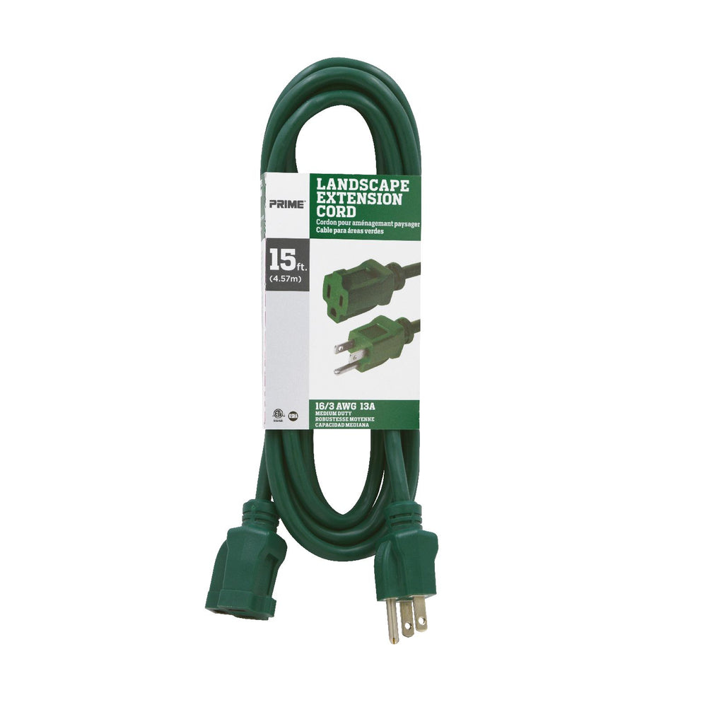 15ft 16/3 SJTW <br />Landscape Extension Cord
