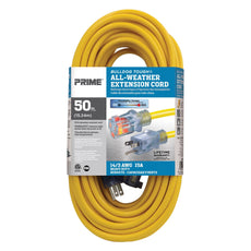 50ft 14/3 SJTOW <br />Bulldog Tough&reg; <br />Oil Resistant Extension Cord