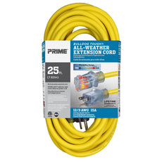 25ft 12/3 SJTOW <br />Bulldog Tough&reg; <br />Oil Resistant Extension Cord