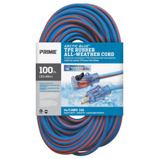 100ft 14/3 SJEOW <br />Arctic Blue™ All-Weather <br />Locking Extension Cord