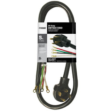 5ft 10/4 SRDT <br />30 Amp Dryer Cord