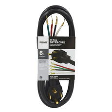 6ft 10/4 SRDT <br />30 Amp Dryer Cord