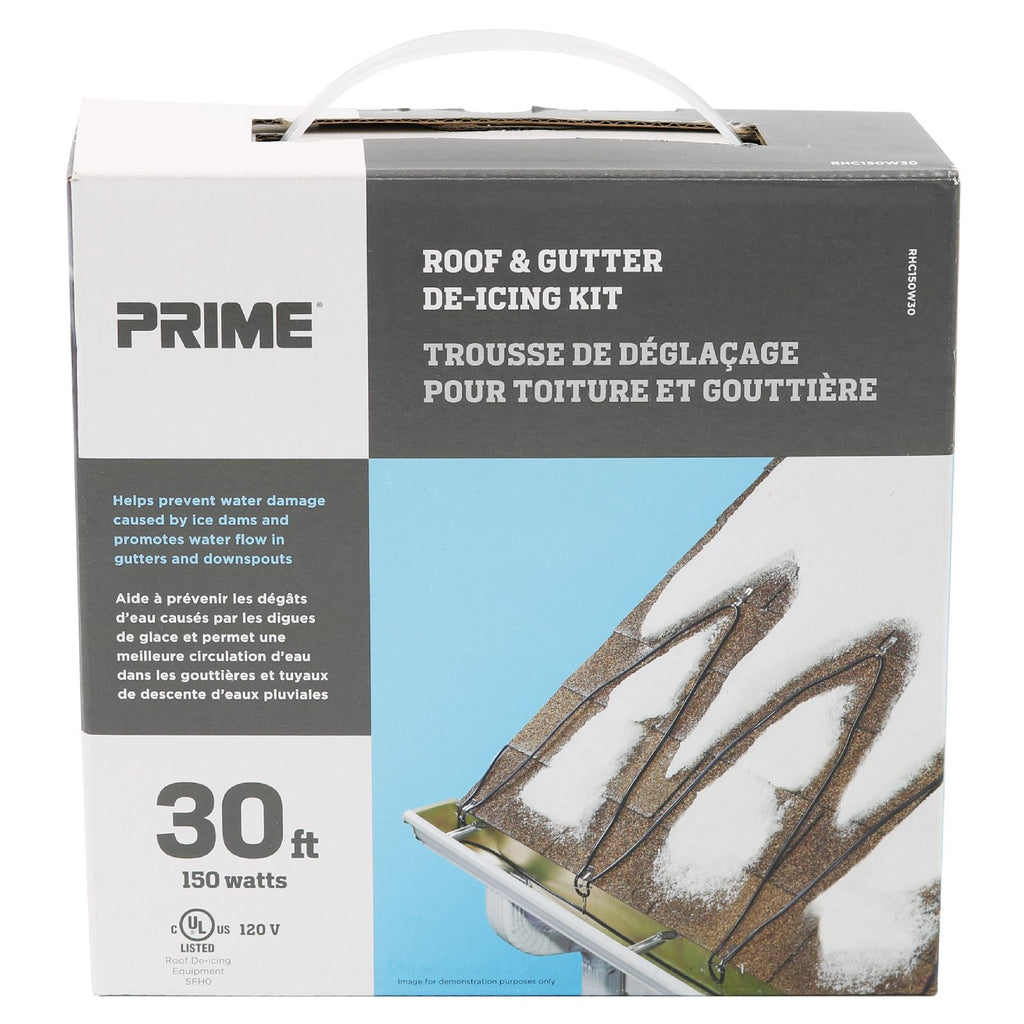 30ft Roof & Gutter Deicing Kit