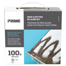 100ft Roof & Gutter Deicing Kit