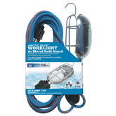 75 Watt Metal Guard Worklight w/25ft TPE-Rubber Cord