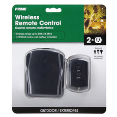 2-Outlet Outdoor Wireless Remote Control