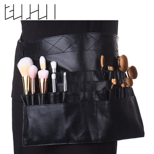 Black Makeup Brush Holder - 24 Pockets, Brush, La.Ma.Cosmetics, La.Ma.Cosmetics - La.Ma.Cosmetics