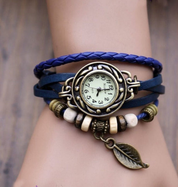 Leaf Beads Wrist Watches, Watch, La.Ma.Cosmetics, La.Ma.Cosmetics - La.Ma.Cosmetics