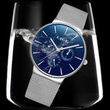Simple Men Watch Quartz  Waterproof, Watch, La.Ma.Cosmetics, La.Ma.Cosmetics - La.Ma.Cosmetics