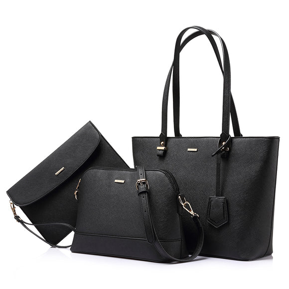 3 sets handbag women - USA delivery 3-13 days, Bag, La.Ma.Cosmetics, La.Ma.Cosmetics - La.Ma.Cosmetics