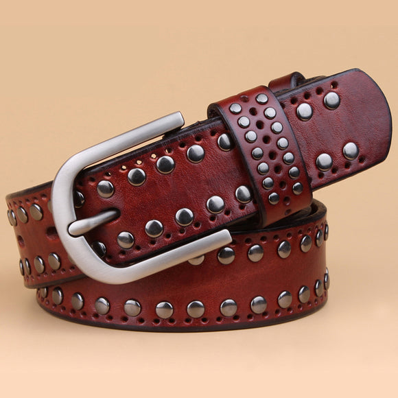 New Style Genuine Leather Belt Unisex, Belts, La.Ma.Cosmetics, La.Ma.Cosmetics - La.Ma.Cosmetics