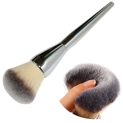 Large Cosmetics Aluminum Brush, make up, La.Ma.Cosmetics, La.Ma.Cosmetics - La.Ma.Cosmetics