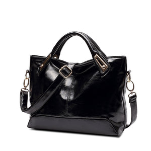 Oil Wax Leather Handbag, Handbag, La.Ma.Cosmetics, La.Ma.Cosmetics - La.Ma.Cosmetics