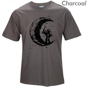 Digging the moon 100% cotton t shirts, T-shirt, La.Ma.Cosmetics, La.Ma.Cosmetics - La.Ma.Cosmetics