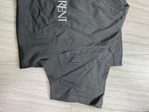 *Defective* YSL Short Sleeve Top (Charcoal)